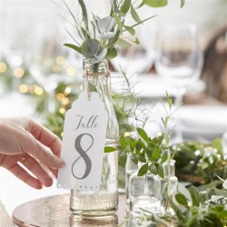 Table Numbers 1-12 - Beautiful Botanics