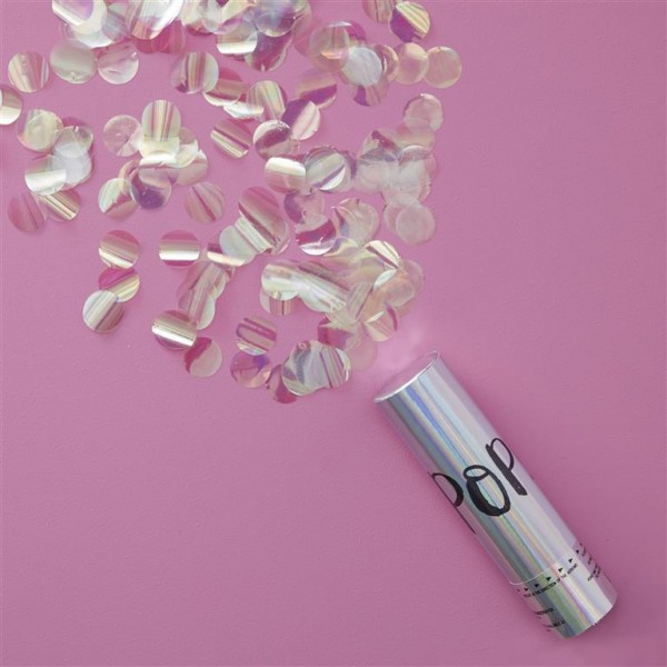 Iridescent POP Compressed Air Cannon - Iridescent Party