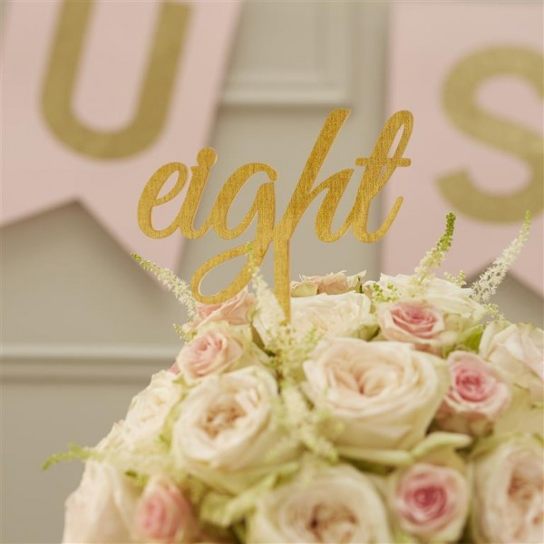 Table Numbers - Pastel Perfection - 1-12