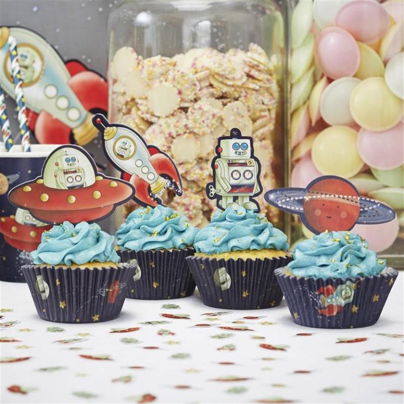 Truly Alice Cupcake Cases Medium