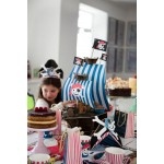 Ahoy There Pirate Ship Centrepiece - Cake Stand