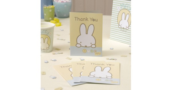 PARTY BAGS BABY MIFFY THEME x 5 BAGS BABY SHOWER FIRST BIRTHDAY