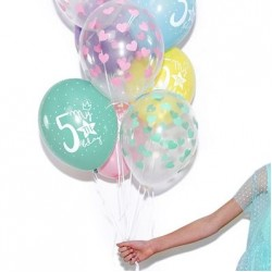 Number & Birthday Age Balloons
