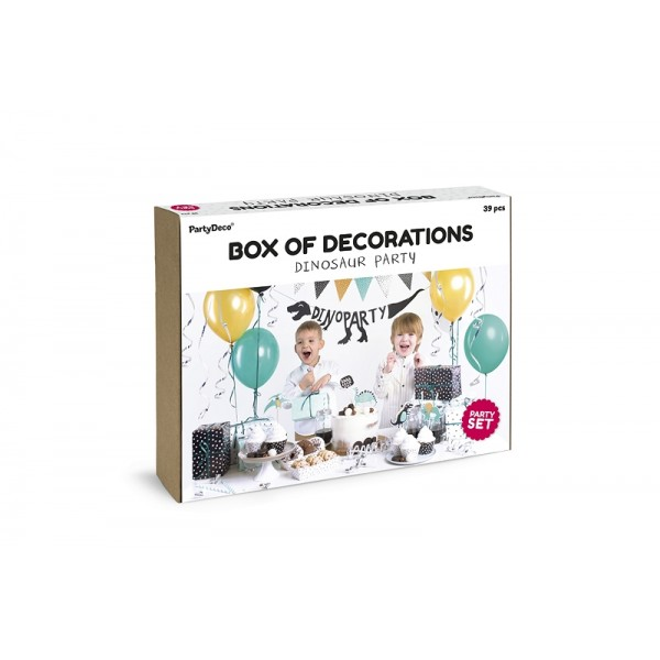 Dinosaur Party - Box of Decorations