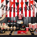 Pirates Party Skull & Crossbones Banner