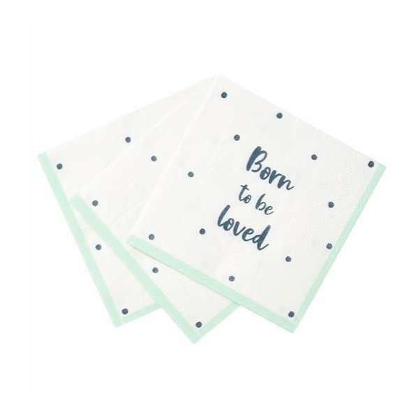 Born to be Loved Cocktail Napkins