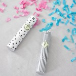 Born to be Loved Gender Reveal Confetti Cannon - Boy